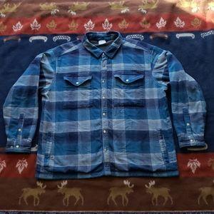 Columbia Metal Snap Shirt Jacket Mens Size XXL
